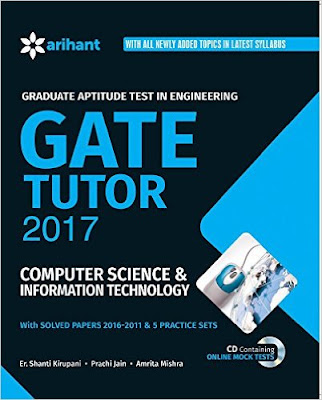 Download Free Arihant Gate Tutor 2017 Computer Science & Information Technology Book PDF