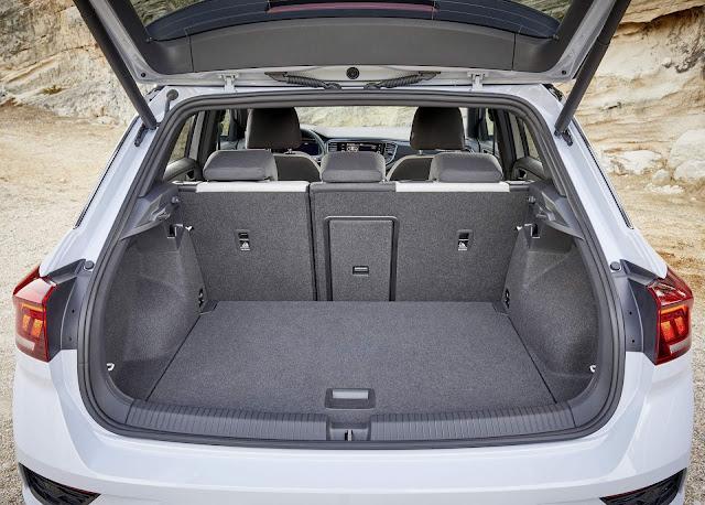 Volkswagen T-ROC - porta-malas