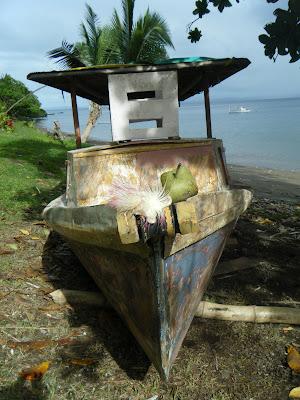 Fijian boat