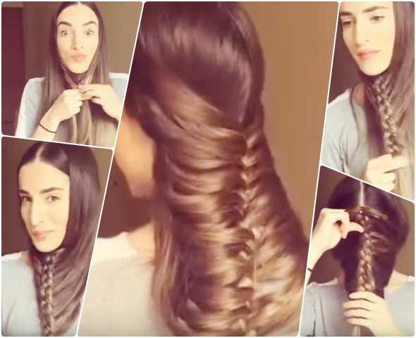 peinado, pelo, cabello, trucos, trenzas
