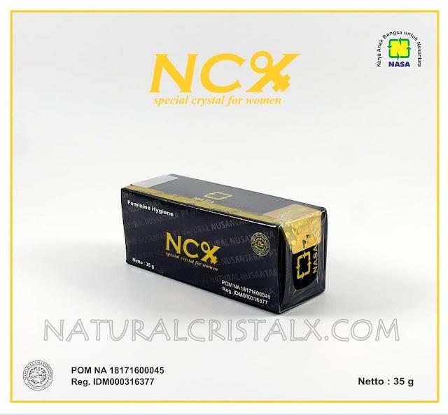 ncx asli nasa obat keputihan POM NA 18171600045