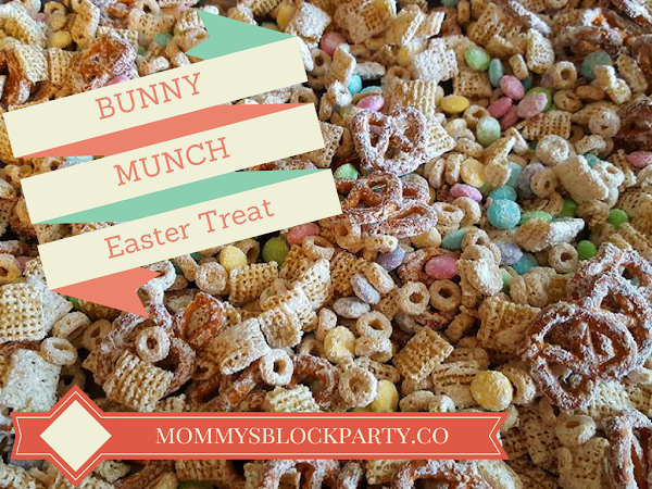 Bunny Munch: A Yummy Easter Treat!