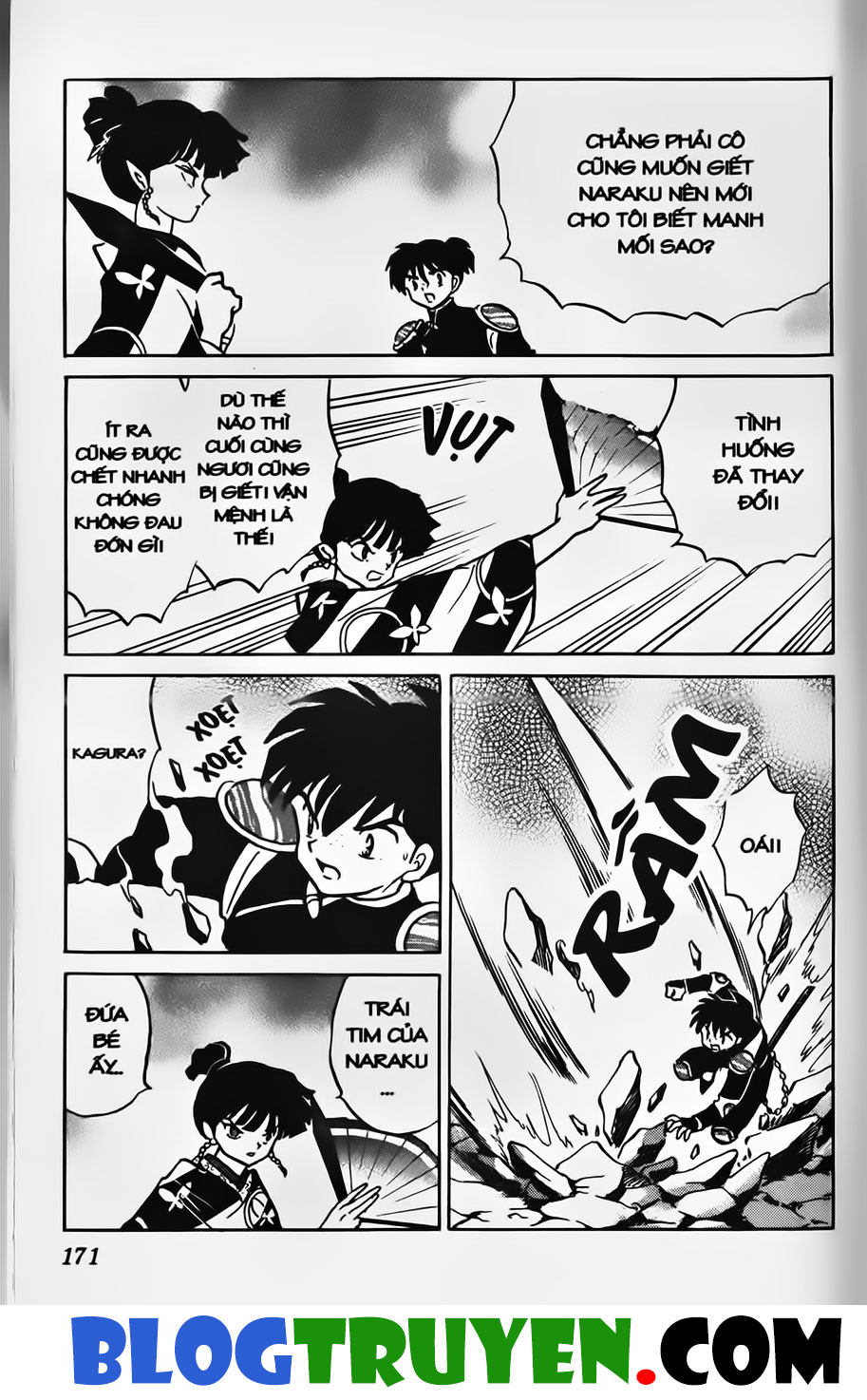 Inuyasha vol 37.10 trang 4