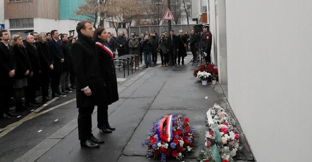 París homenajeó a las víctimas de los atentados contra Charlie Hebdo y un supermercado judío