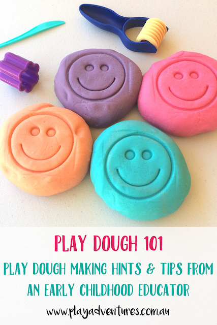 Playdough Making Hints and Tips from an Early Childhood Educator