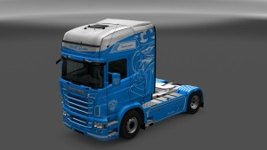 North Queen Skin for Scania RJL