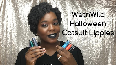 #WetNWild Halloween Limited Edition Catsuit Lip Swatches| PrettyPRChickTV