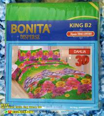 Sprei Bonita Dahlia King Ukuran 180