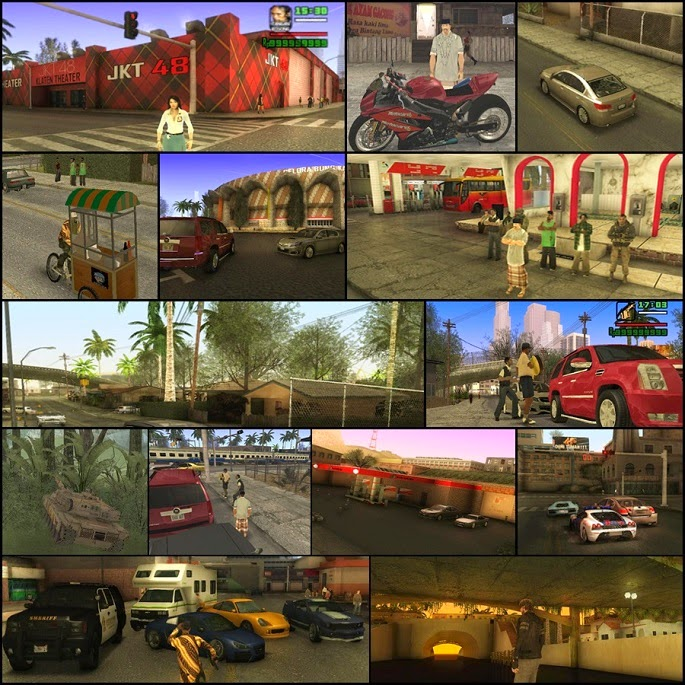 GTA Extreme Indonesia Full Version Mod (San Andreas)