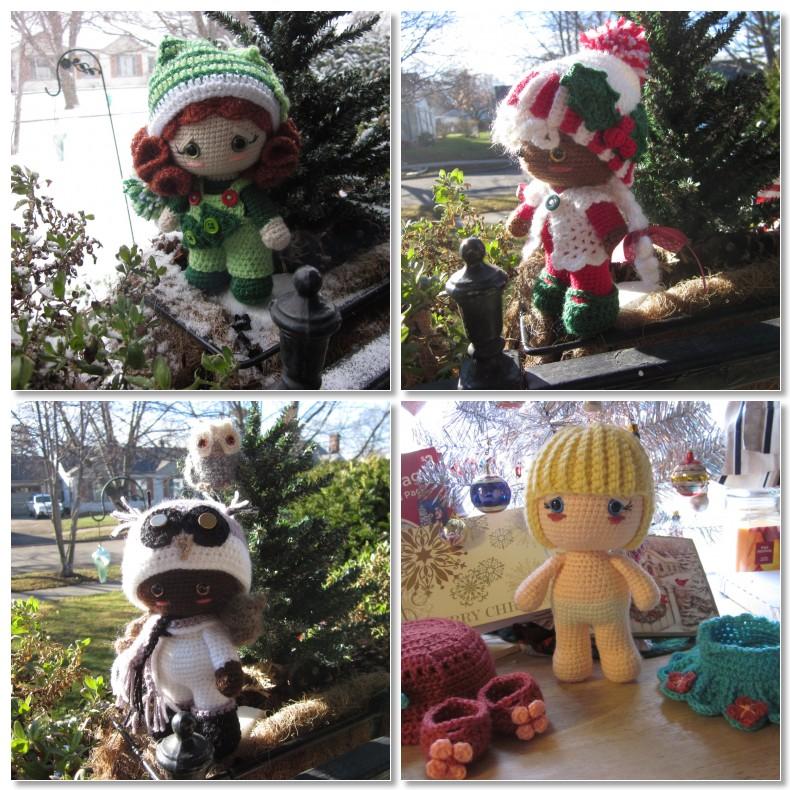 By Hook By Hand Delightful Big Head Crochet Dolls