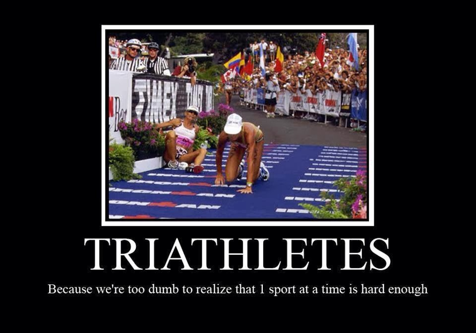 triathlon%2Bmeme2 running keeps me sane summertime is tri time