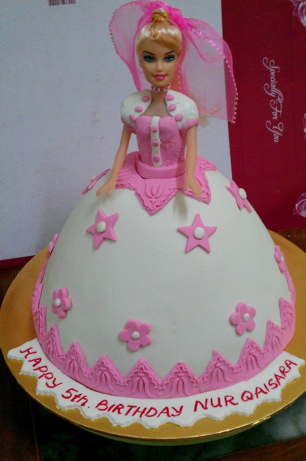 Happy Birthday Cake Zainab