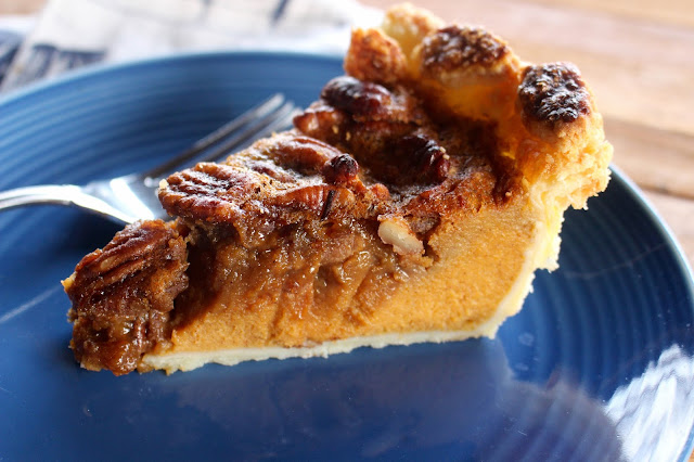 Sweet Potato Pecan Pie | Nothing in the House