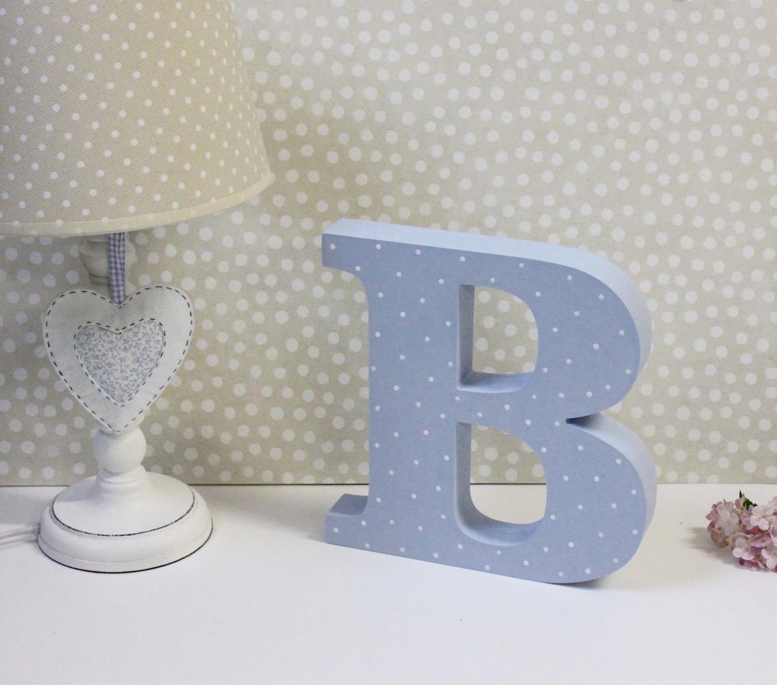 Letras y nombres para decorar espacios infantiles - Letras para decorar habitacion infantil ...