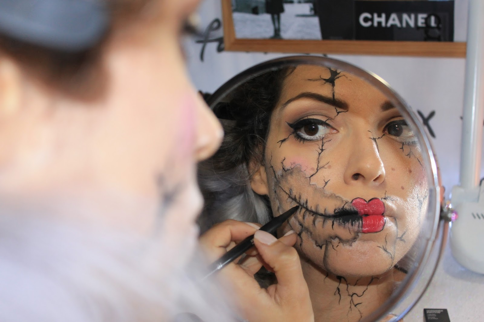 halloween make up tutorial 5
