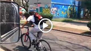 No le des la espalda a Jesús,menos en   bici