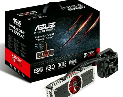 ASUS Introduces  R9 295X2