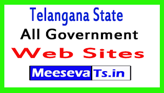 Telangana State All Government Web Sites