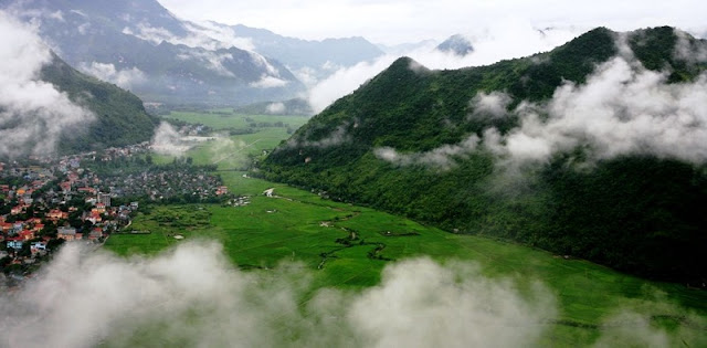 The most beautiful landscapes in north vietnam in October 2