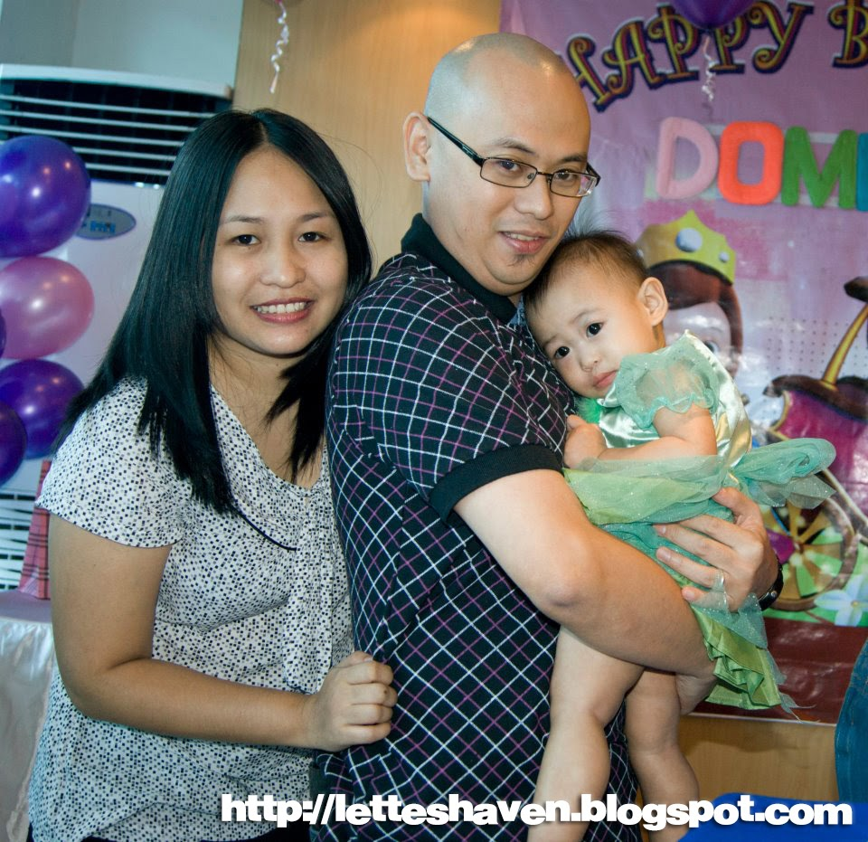 Lette's Haven: Dominique Louise 1st Birthday At Max's