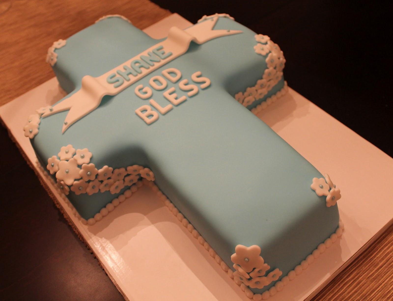 Creative Cakes By Lynn Blue Cross Cake
