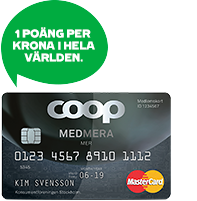 coop kort kredit