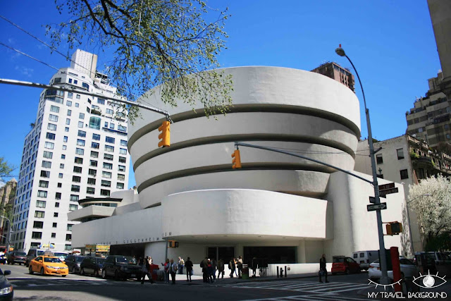 My Travel Background : le Guggenheim, New York