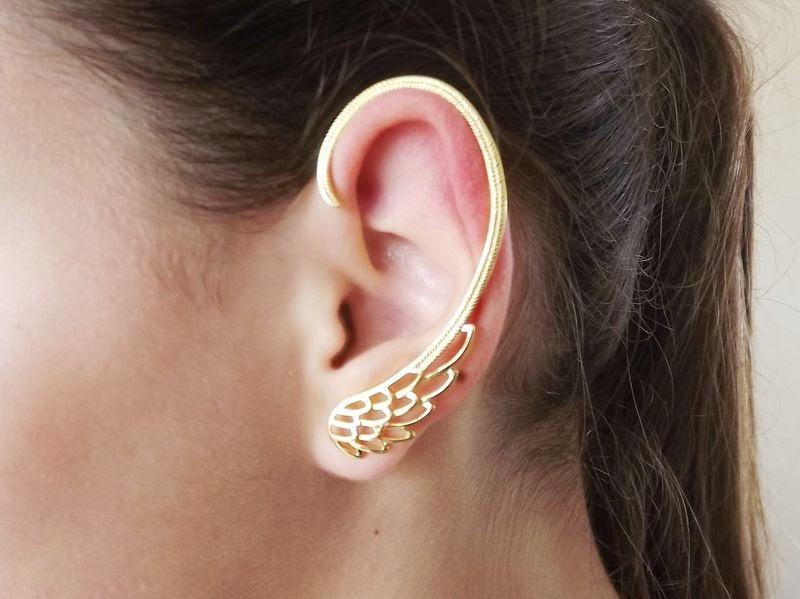 35010180b147 pendientes que cubren toda la oreja - Los pendientes con forma de ...