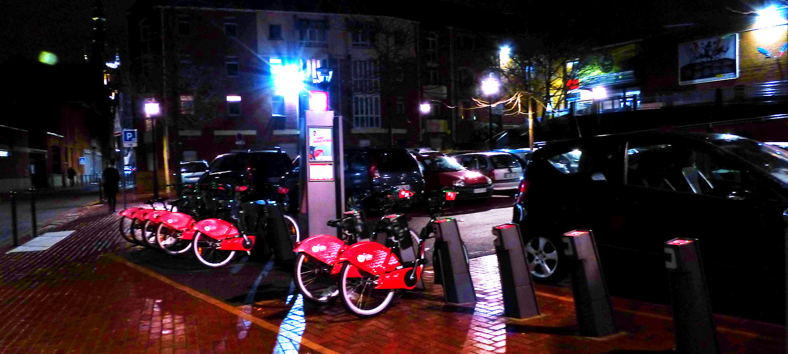 Tourcoing V'Lille - Rue des Anges by night
