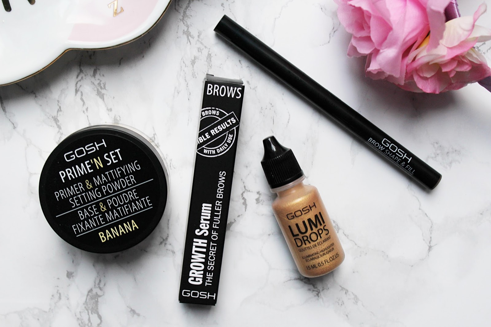 GOSH Makeup Must Haves