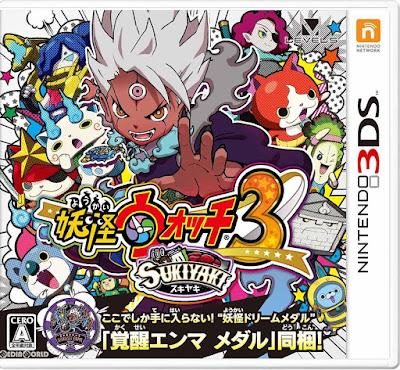 Yo Kai Watch 3 Sukiyaki Decrypted 3DS JAP