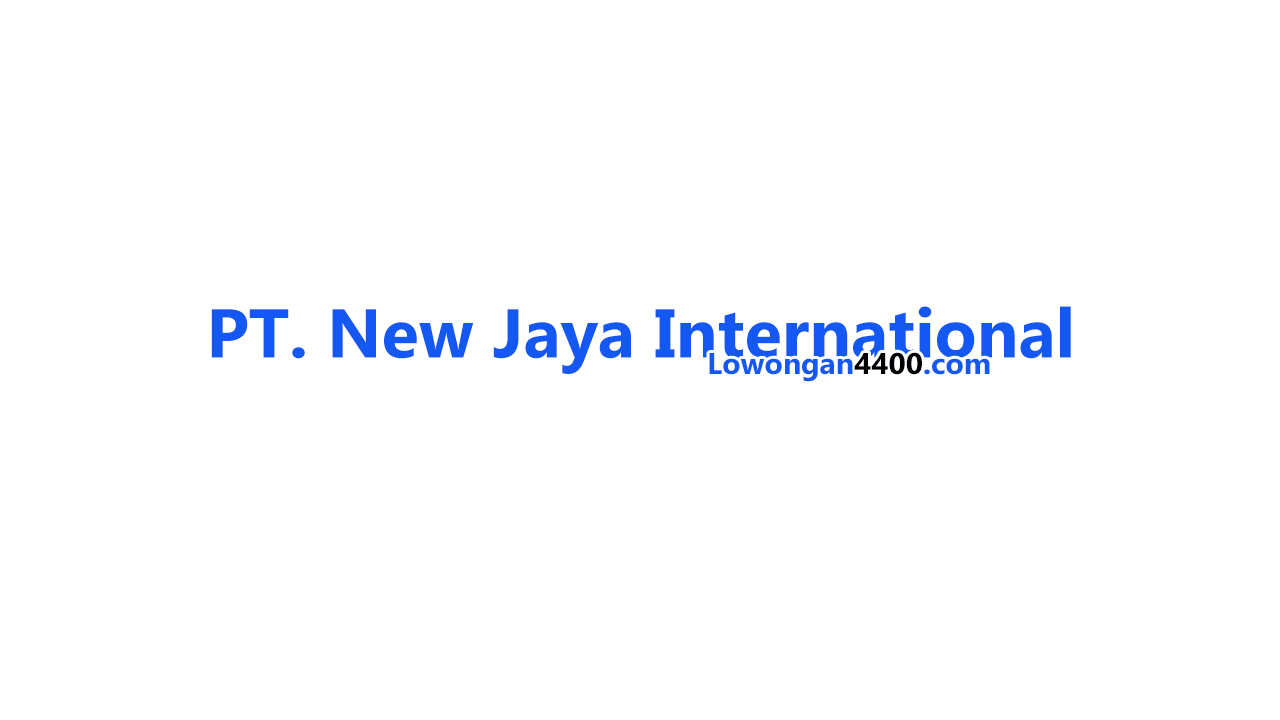 PT New Jaya International