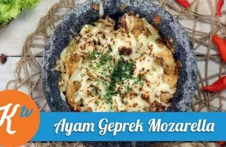Resep Masakan Ayam Mozzarella