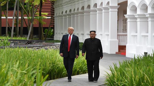 Inikah Hasil Pertemuan  Kim Jong-un dan Donald Trump  ?