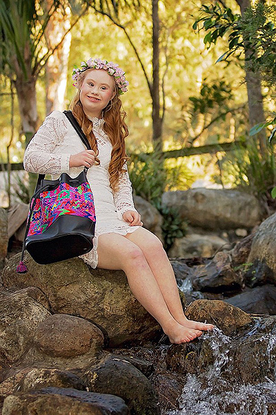 model Madeline Stuart-girl with Down syndrome