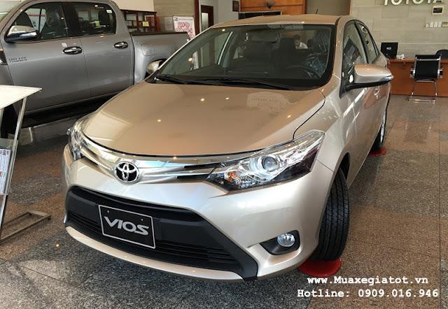 gia xe toyota vios 1 - So sánh Chevrolet Aveo và Toyota Vios tại Việt Nam - Muaxegiatot.vn