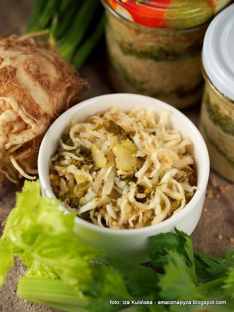 kiszonka, seler kiszony, warzywa, surowka, przetwory, spizarnia, fermentujemy, fermentacja