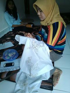 mencanting_pelatihan batik tulis