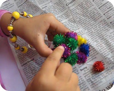 Como hacer adornos navideños con niños