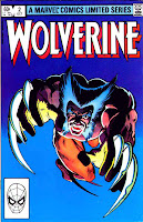 Wolverine v1 #2 - Frank Miller art 1980s marvel comic book cover