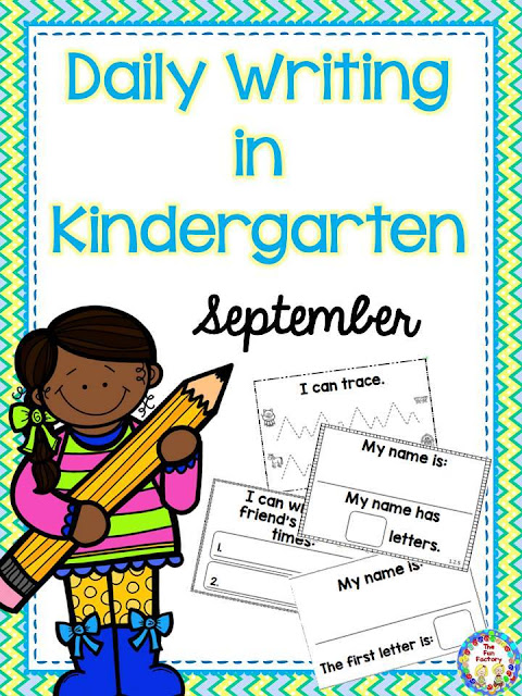 Sept. Kindergarten Writing