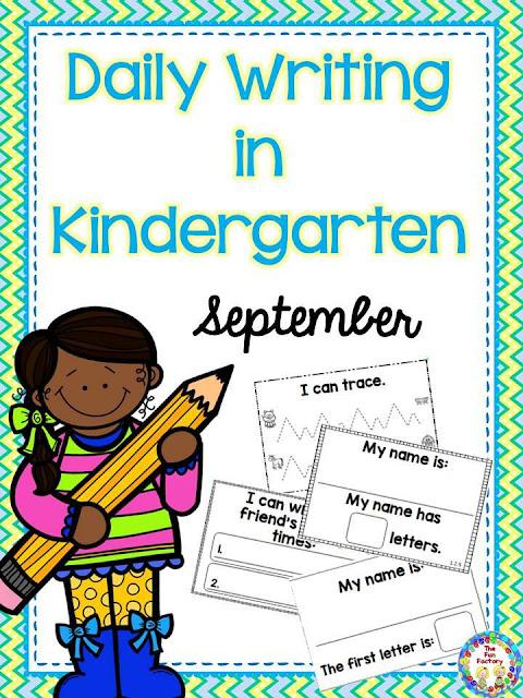 Sept. Kindergarten Writing