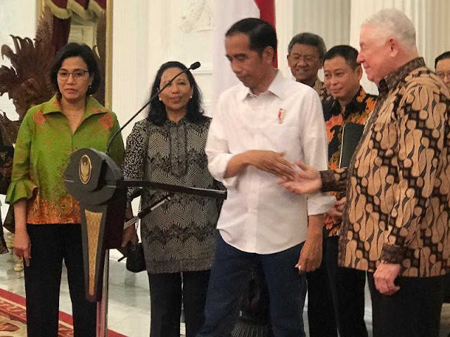 Jokowi Umumkan 51 Persen Saham Freeport Milik Inalum