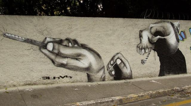 Мрачные рисунки на стенах. Ethos 3