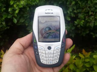 Nokia 6600 Jadul Seken Mulus Kolektor Item