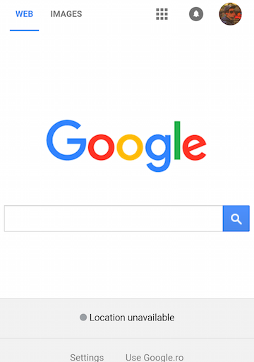 New Mobile Google Homepage