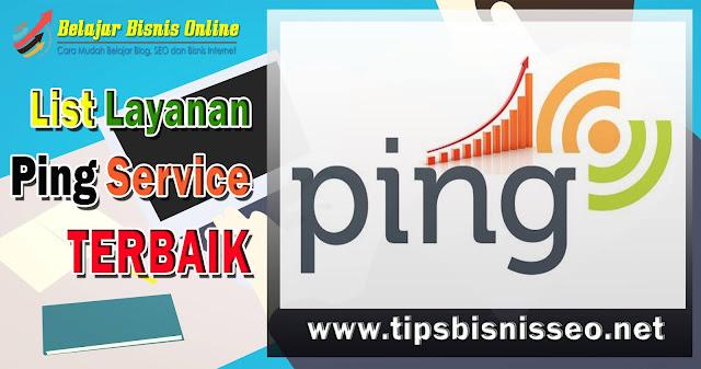 List Ping Services Terbaik
