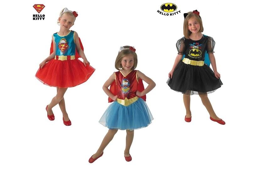 Superheroínas de Hello Kitty