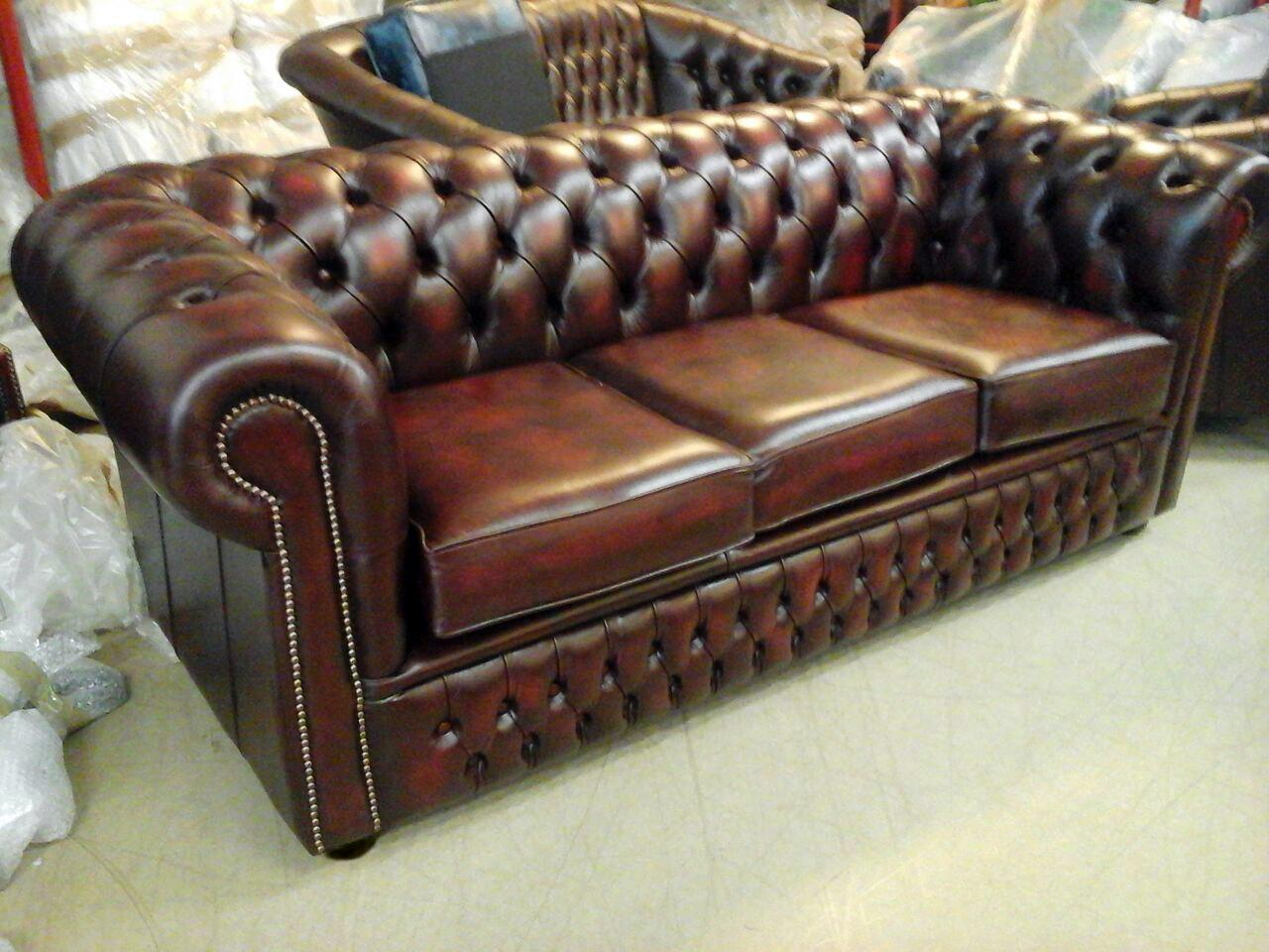 Divani chesterfield vintage originali for Divano in inglese