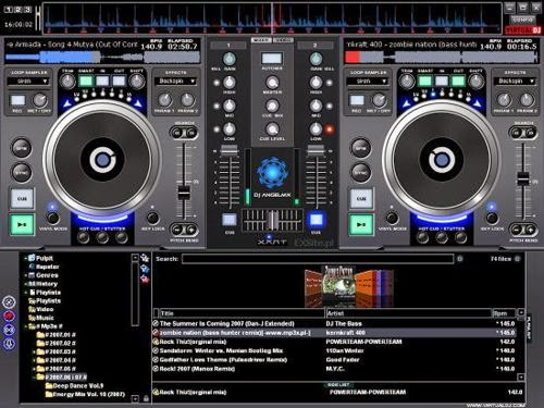 Atomix VirtualDJ 7 4 1 Home - Software Updates - nsane forums